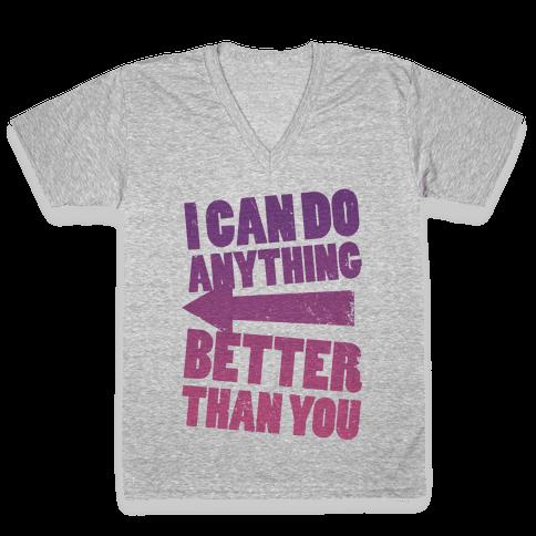 Better Than You (Training Pair, Part 2) V-Neck Tee Shirt