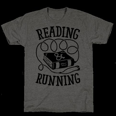 Reading & Running Mens T-Shirt