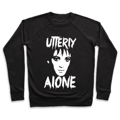 Utterly Alone Pullover
