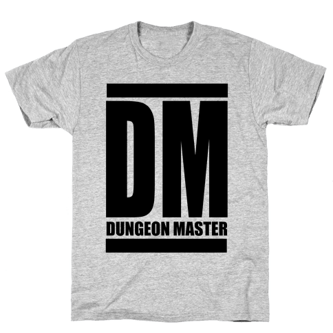 Dungeon Master Mens T-Shirt