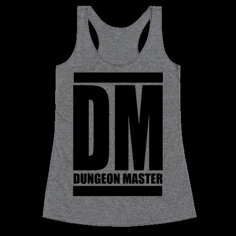 Dungeon Master Racerback Tank Top