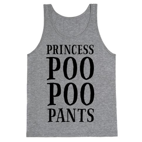 Princess Poo Poo Pants Tank Top