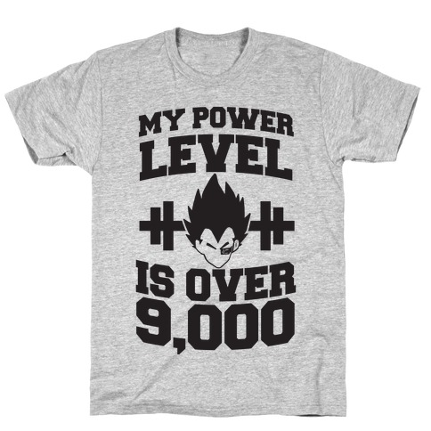 My Power Level is Over 9,000 T-Shirt