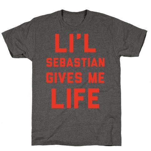 Li'l Sebastian Gives Me Life T-Shirt