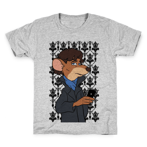 Sherlock of Baker Street Kids T-Shirt