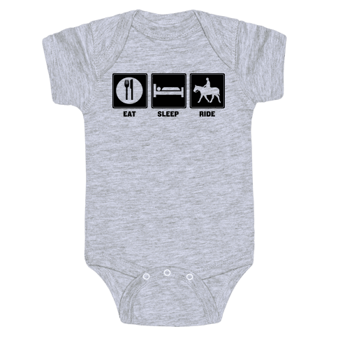 Eat. Sleep. Ride Baby Onesy