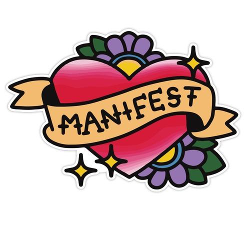 Manifest (Color) Die Cut Sticker