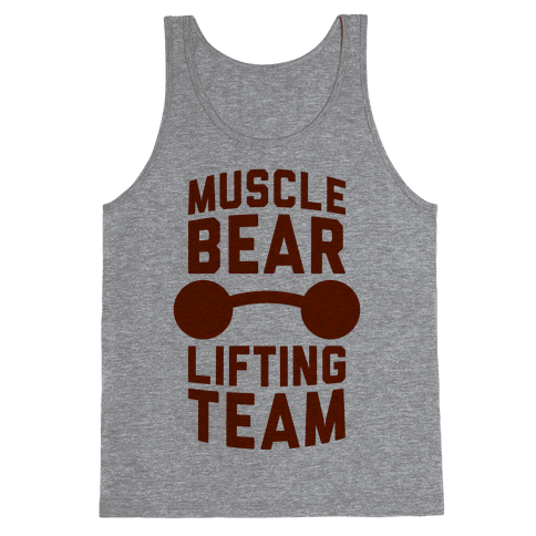 Musclebear Lifting Team Tank Top