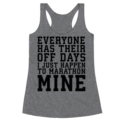 Off Days Racerback Tank Top
