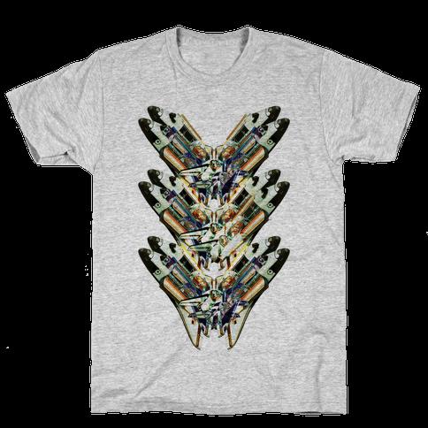 Spacelab Collage Mens T-Shirt