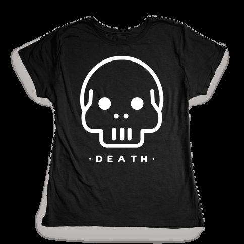 Death Tarot Womens T-Shirt