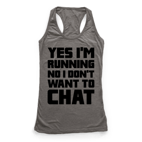 Yes I'm Running