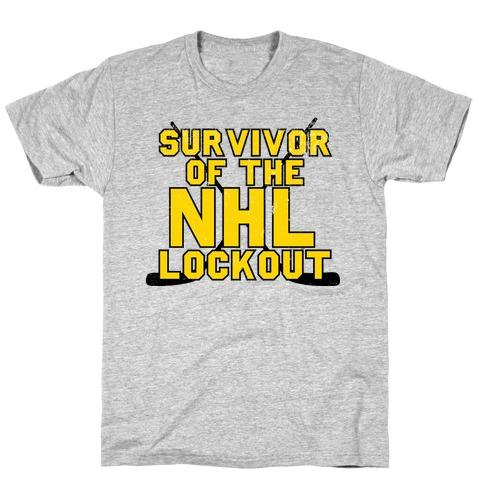 Survivor Of The NHL Lockout T-Shirt