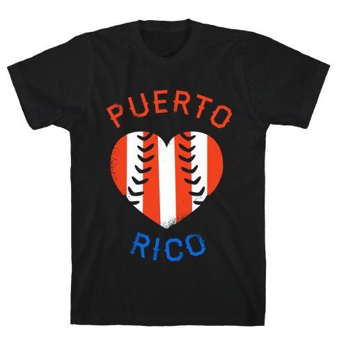 Puerto Rico Baseball Love (Tank) T-Shirt