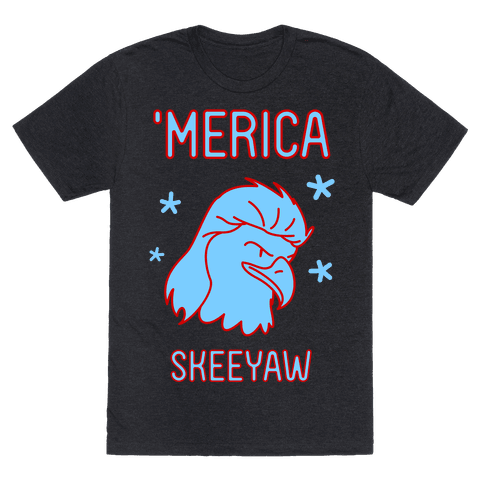Merican Eagle Mens T-Shirt
