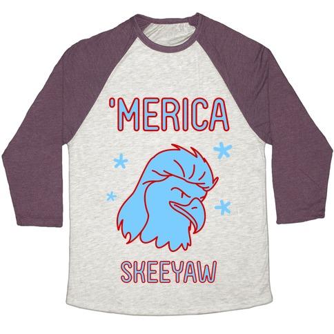Merican Eagle Baseball Tee