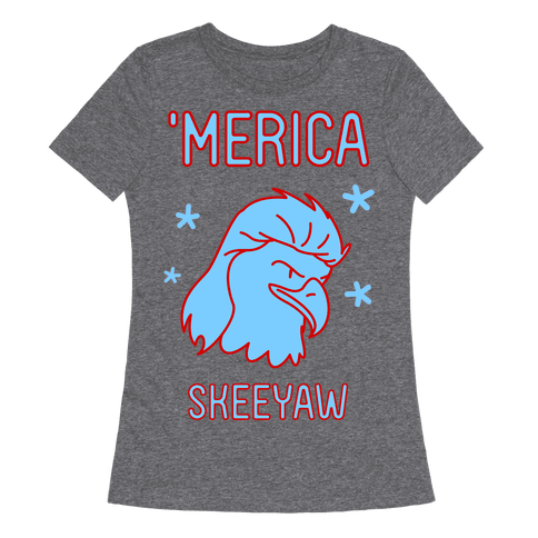 Merican Eagle Womens T-Shirt