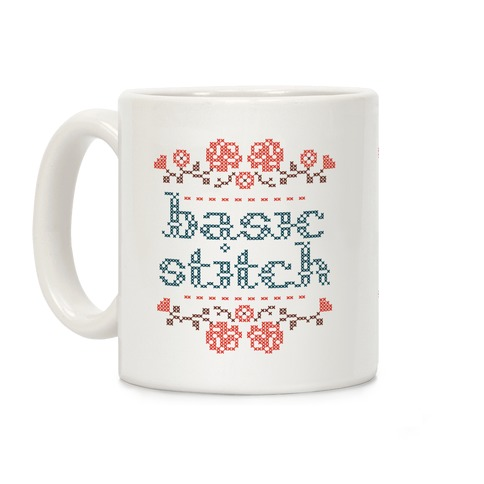 Basic Stitch Coffee Mug