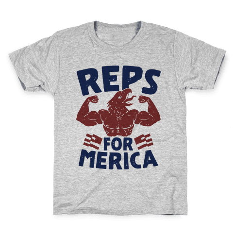 Reps For 'Merica Kids T-Shirt