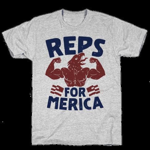 Reps For 'Merica Mens/Unisex T-Shirt