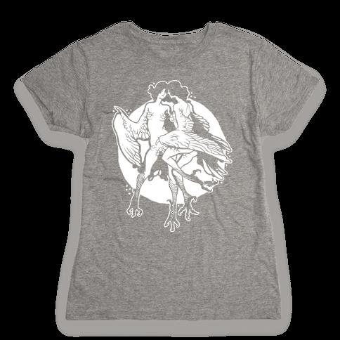 Harpy Monster Girls Womens T-Shirt