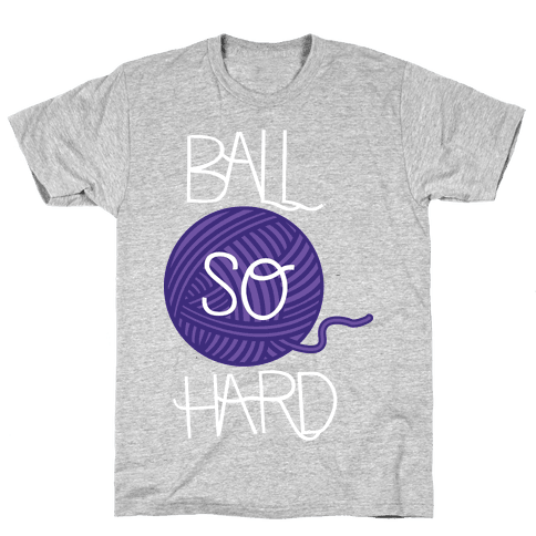 Yarn So Hard Sweatshirt Mens T-Shirt