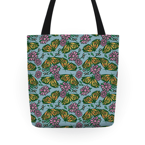 Butterflies In Bloom Tote