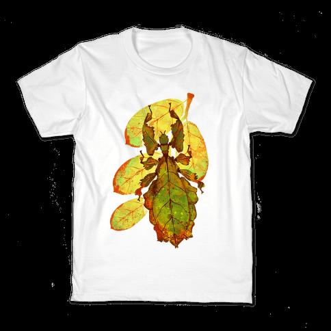 Phylliidae Walking Leaf Kids T-Shirt