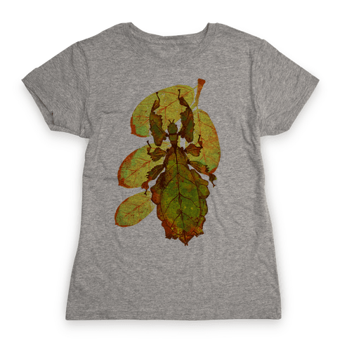 Phylliidae Walking Leaf Womens T-Shirt
