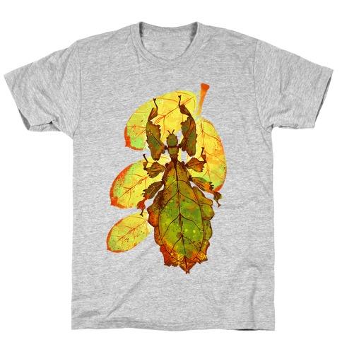 Phylliidae Walking Leaf T-Shirt
