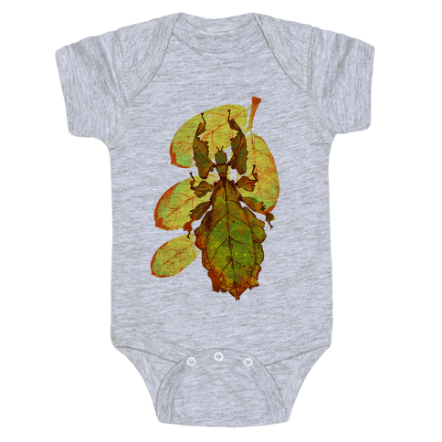 Phylliidae Walking Leaf Baby Onesy