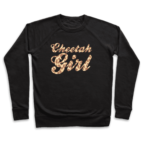 Cheetah Girl Pullover