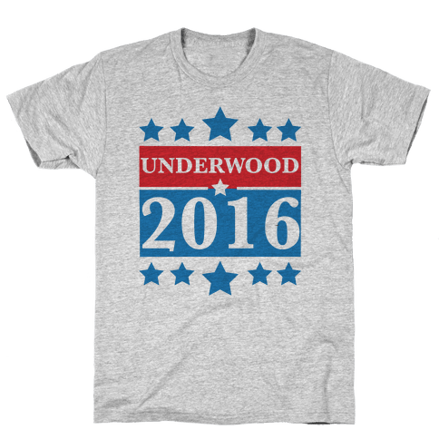 Underwood For President 2016 Mens T-Shirt