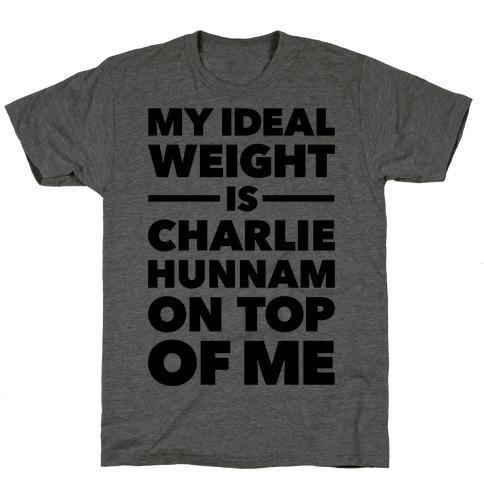Ideal Weight (Charlie Hunnam) T-Shirt