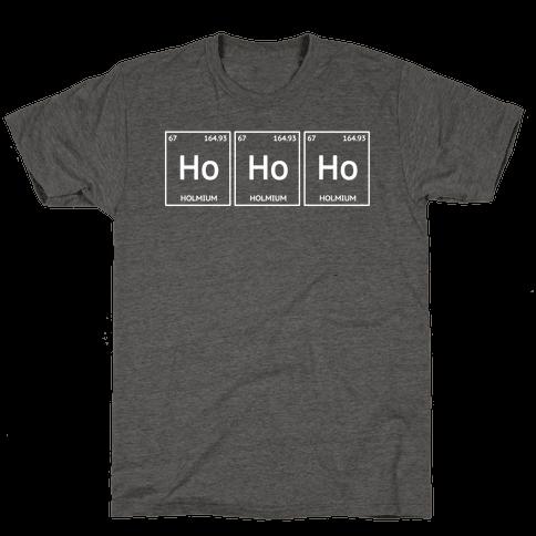 HO HO HO ( Holmium Christmas Element )