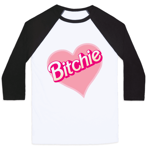 Bitchie Baseball Tee