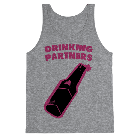 Drinking Partners (Pink) Tank Top