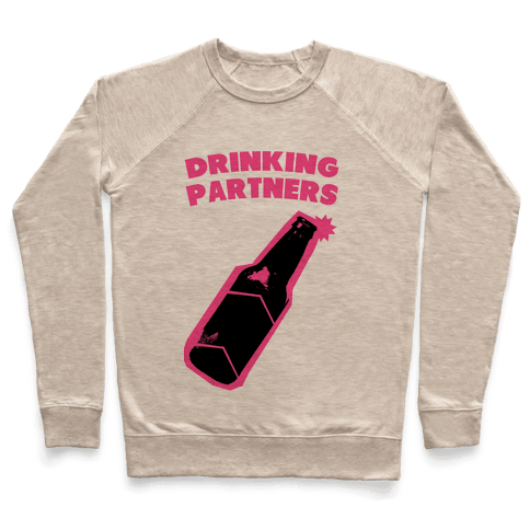 Drinking Partners (Pink) Pullover