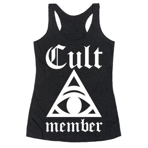 Cult Member Racerback Tank Top