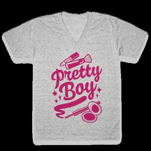 Pretty Boy V-Neck Tee Shirt
