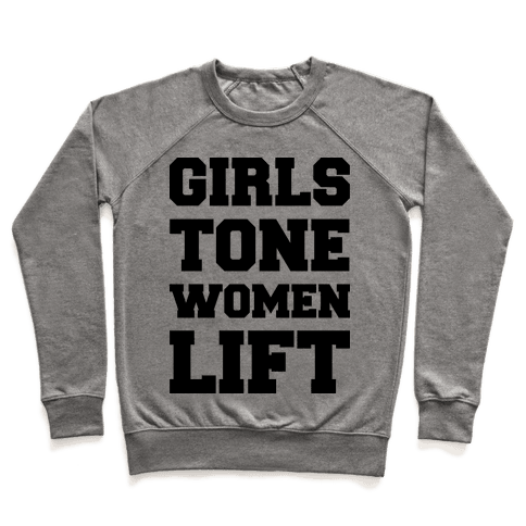 Girls Tone Women Lift Pullover