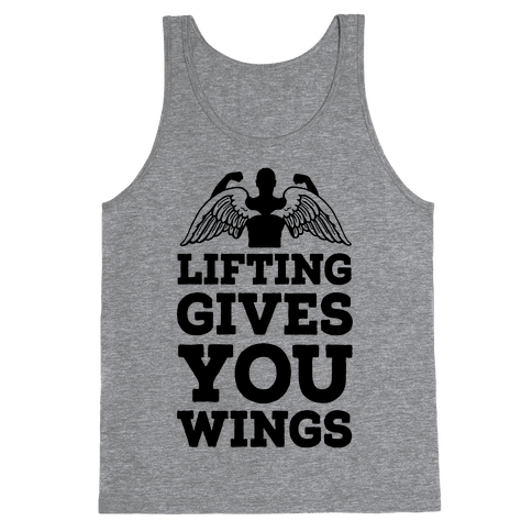 Lifting Gives You Wings Tank Top