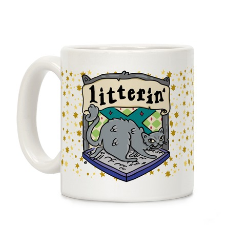 House Cats Litterin' Coffee Mug