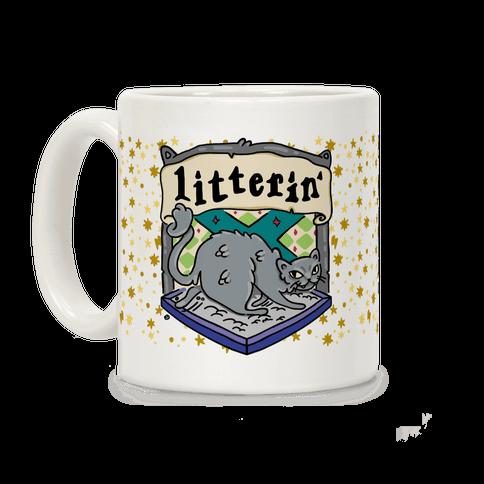 House Cats Litterin' Coffee Mug