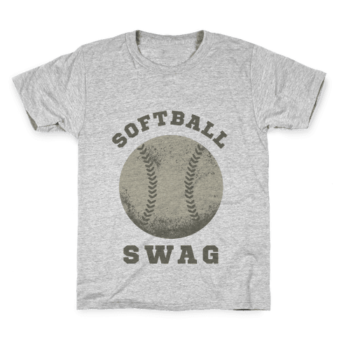 Softball Swag Kids T-Shirt