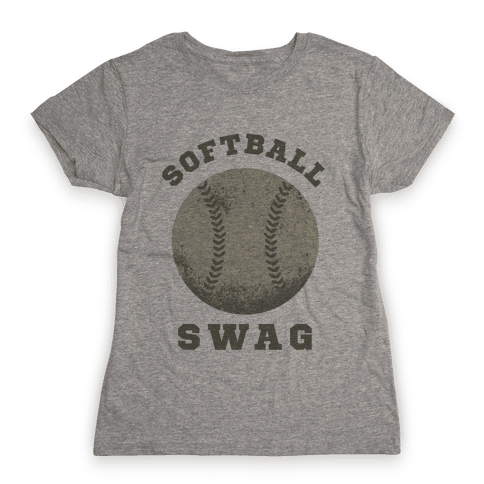 Softball Swag Womens T-Shirt