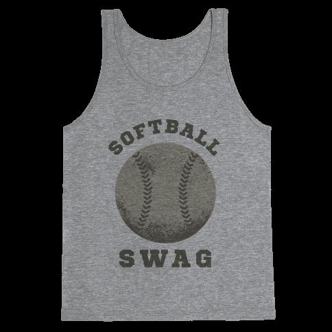 Softball Swag Tank Top