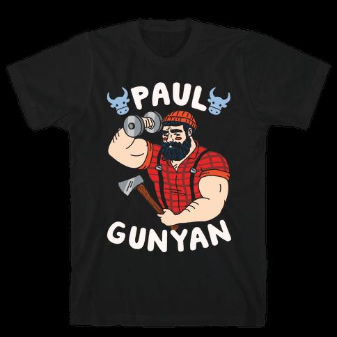 Paul Gunyan Mens T-Shirt