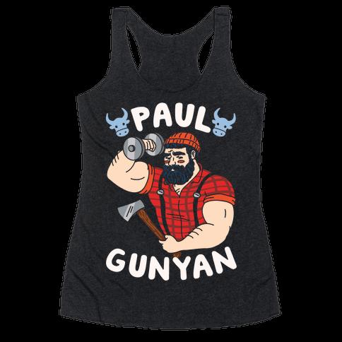 Paul Gunyan Racerback Tank Top
