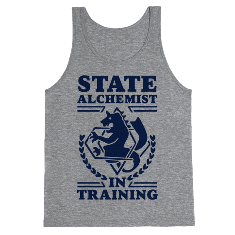 State Alchemist in Training Tank Top